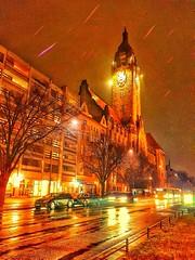 Rathaus Schöneberg Berlin (frenziM´s little world) Tags: berlin rathausschöneberg city cityscape germany deutschland nightphotography nightlight streetphotography artisticphotography