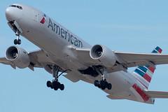 American Airlines Boeing 777-223(ER) (zfwaviation) Tags: kdfw dfw dallasfortworth dallas fort worth texas aviation aircraft airplane plane jet airline airliner spotting d750 200500mm n787al b777 777200 777200er 77e aa american