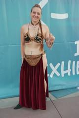 SDCC 2018 - 1589 (Photography by J Krolak) Tags: costume cosplay masquerade comicconvention sdcc2018 leia princessleia slaveleia leiasmetalbikini