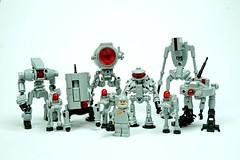 Robot barf! Happy Christmas everybody. (Rogue Bantha) Tags: legorobot robot lego