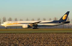 Jet Airways Boeing 777-35R(ER) VT-JEK / AMS (RuWe71) Tags: jetairways 9wjai india mumbai boeing boeing777 b777 b773 b777300 b77735r b77735rer boeing777300 boeing777300er boeing77735r boeing77735rer vtjek cn35165696 amsterdamschiphol amsterdamschipholairport schiphol schipholairport schipholamsterdam ams eham widebody twinjet taxiing sunrise dawn morning