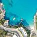 Xigia Beach Zakynthos, Greece aerial