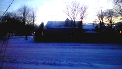 New Years morning - sunrise and snow!! 2019 (Maenette1) Tags: newyearsday sunrise snow neighborhood 2019 menominee uppermichigan flicker365 allthingsmichigan absolutemichigan projectmichigan