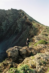 (louis de champs) Tags: minoltasrt101 filmphotography hiking volcano lanzarote sunset
