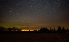 Night sky with hint of Nothern lights (Carl Terlak) Tags:
