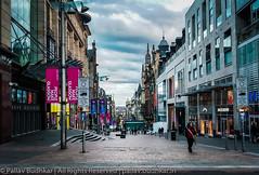A Street In Glasgow (Pallav Budhkar) Tags: ifttt 500px street 2017 europe glasgow scot scotland travel uk united kingdom city market mobile samsung phonography unitedkingdom