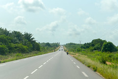 Traversing Benin (Francisco Anzola) Tags: benin africa roadtrip tropical tropics road highway
