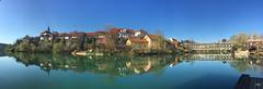 Panorama Novo Mesto (Super Mario Bros1) Tags: novomesto panorama slovenia fiume chiesa ponte alberi