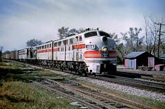CB&Q F3 116A (Chuck Zeiler 48Q) Tags: cbq f3 116a burlington railroad emd locomotive sandwich train alchione chz