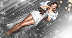 The Angel Gate (meriluu17) Tags: sintiklia foxcity glamaffair doll angel angelic gate mrammor water reflection white people surreal fantasy