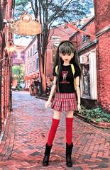 Jade (MurderWithMirrors) Tags: momoko doll groovybaby reroot repaint sekiguchi mwm