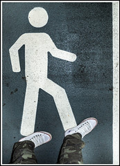 feet n stickmen (CWhatPhotos) Tags: cwhatphotos flickr camera photographs photograph pics pictures pic picture image images foto fotos photography artistic that have which contain photo photos stick man road feet foot boots converse all stars walk walkway walking legs
