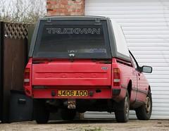 J406 AOO (3) (Nivek.Old.Gold) Tags: 1992 ford p100 turbo diesel popular pickup truckman plastic canopy 1753cc candor