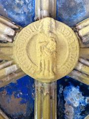 St John the Baptist (Aidan McRae Thomson) Tags: tynemouth priory chapel vault vaulting roofboss bosses medieval carving tynewear