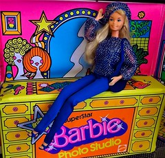 BEST BUY 2564 (ModBarbieLover) Tags: superstar barbie doll mattel disco sporty bestbuy fashion 1978 photo studio dressing room toy pretty changes