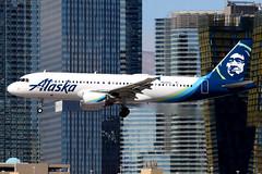 Alaska Airlines | Airbus A320-200 | N628VA | Las Vegas McCarran (Dennis HKG) Tags: aircraft airplane airport plane planespotting canon 7d 100400 lasvegas mccarran klas las alaska alaskaairlines asa as usa airbus a320 airbusa320 n628va