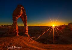 Arch of Light (Jerry T Patterson) Tags: utah anp archesnationalpark canyonlands moab moabutah moabut hiking sunrise sunset ig utahmagazine utahadventures