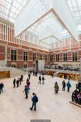 Inside Rijksmuseum (Nicola Pezzoli) Tags: rijksmuseum amsterdam netherland paesi bassi europe travel city architecture museum vertical white