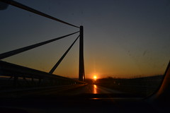 On the Road... (mirella cotella) Tags: landscapes sun light sunset mood atmosphere highway