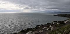Howth (MargrietPurmerend) Tags: clouds sea howth ireland dublin cliffs