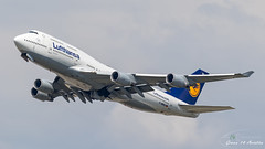 Lufthansa B747 (Ramon Kok) Tags: 744 747 747400 avgeek avporn aircraft airline airlines airplane airport airways aviation boeing boeing747 boeing747400 dabvu dlh eddf fra frankfurt frankfurtairport germany lh lufthansa