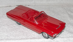 1964 Ford Thunderbird Convertible Promo model Car - Rangoon Red (coconv) Tags: car cars vintage auto automobile vehicles vehicle autos photo photos photograph photographs automobiles antique picture pictures image images collectible old collectors classic promotional dealership plastic scale promo model smp amt mpc johan revell hubley 125 124 banthrico sample kit coupe history historical dealer toy miniature 125th 1964 ford thunderbird convertible rangoon red 64