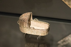 Tiny silver crib basket (quinet) Tags: 2017 amsterdam antik netherlands rijksmuseum ancien antique museum musée