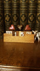 Friday, 15th, Valentines Day chocolate hearts (tomylees) Tags: chocolate heart essex morning winter february 15th 2019 friday calendar perpetual