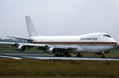 Boeing 747-130 N780T Transamerica (EI-DTG) Tags: boeing747 b747 jumbojet queenoftheskies 30jun1984 n780t shannonairport einn transamerica