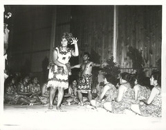 Samoans performers from Wellington, Polynesian Festival 1972