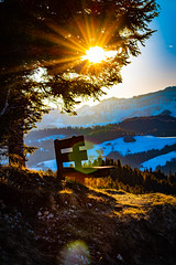 Sonnenaufgang Waldhuesern Bank (jn.photographien) Tags: bank sonnenaufgang waldhuesern switzerland schweiz winter sunrise
