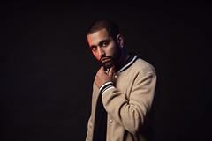 Ashar (AlexanderHorn) Tags: man hansom portrait studio strobe dramatic colorgel