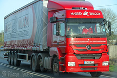Mercedes Actros Massey & Wilcox PK12 RZX (SR Photos Torksey) Tags: transport truck haulage hgv lorry lgv logistics road commercial vehicle freight traffic mercedes actros massey wilcox