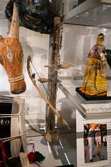 Indian bowed instrument (quinet) Tags: 2017 aborigène britishcolumbia canada kunst museumofanthropology ubc ureinwohner vancouver aboriginal art museum musée native