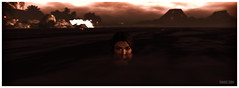 (΄◉◞౪◟◉`) (frankieedon) Tags: secondlife second life ocean open water emerging lurking creeping dark