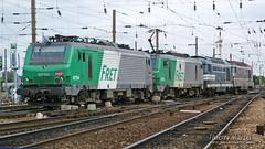 BB 27134 + BB 27139 + BB 27605 + BB 67322, Amiens - 06/09/2009 (Thierry Martel) Tags: bb27000 bb67300 locomotiveélectrique sncf amiens locomotivethermique