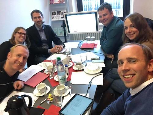 Büroklausur in Oldenburg mit meinen Mitarbeitern aus dem Wahlkreis und aus Berlin.