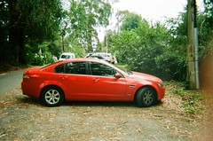 2010 Holden Commodore Omega (photo 4) (Matthew Paul Argall) Tags: kodakflashsingleusecamera 35mmfilm fixedfocus disposablecamera singleusecamera 800isofilm kodak800 car vehicle automobile transportation holden holdencommodore sedan familysedan