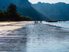 Ao Nang 7 (deepaqua) Tags: beach ocean tree andamansea krabiprovince island indianocean palmtree aonang silhouette boat thailand