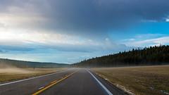 Grand Canyon - North Rim (ValeTer_) Tags: road highway sky asphalt natural landscape cloud atmospheric phenomenon trip horizon surface grand canyon north rim nikon d7500 arizona nature