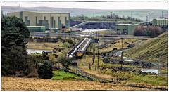 Arriving at Cwmbargoed (Welsh Gold) Tags: 66040 4c94 port talbot cwmbargoed coal empties 66570 6c94 cwmbargoeddispoaslpoint southwales