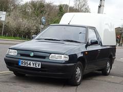1997 Škoda Felicia 1.9D Cube Van (Neil's classics) Tags: vehicle 1997 škoda felicia 19d cube van