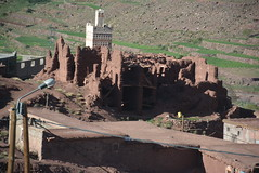 melted casbah (kasbah) (cam17) Tags: morocco highatlas atlasmountains casbah kasbah meltedkasbah melted ruins