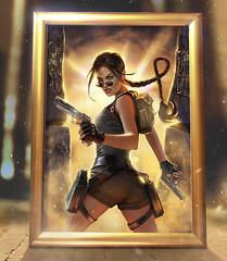 Art Print Tomb Raider The Last Revelation – alt.cover par Inna Vjuzhanina (Shady_77) Tags: artprint tombraider laracroft print editionlimitée limitededition inna vjuzhanina innavjuzhanina