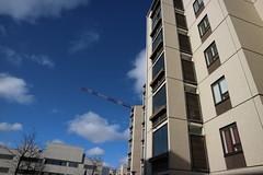 Tapiola, Espoo (Josh Khaw) Tags: brutalist brutalism tapiola finland apartment building construction architecture espoo brown tile