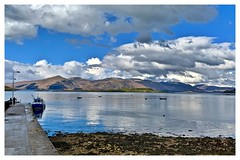 Plain sailing! (john.methven) Tags: lismore port appin scotland boat ferry clouds water loch hills