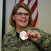 Chief Master Sgt. Sarah Edwards' promotion
