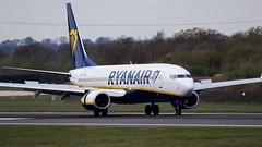 Ryanair Boeing 737-8AS (ianclarke82) Tags: ryanair eiftt 737ng 7378as boeing boeing737 landing aviationphotography aviation canon80d canonaviation canonphotography airline airliners manegcc manchesterairport
