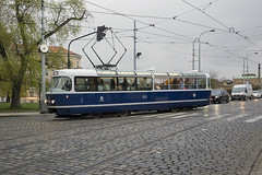 T3 Coupé (Tim Boric) Tags: praag praha prague prag tram tramway streetcar strassenbahn tramvaj tatra t3 coupé partytram annamarešová františekkardaus dpp