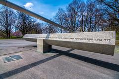 Olympics 1972 memorial by Fritz Koenig (Muenocchio) Tags: munich olympiapark spring frühling münchen memorial olympics 1972